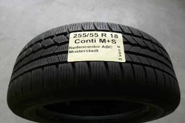 Etiketten für Reifen
